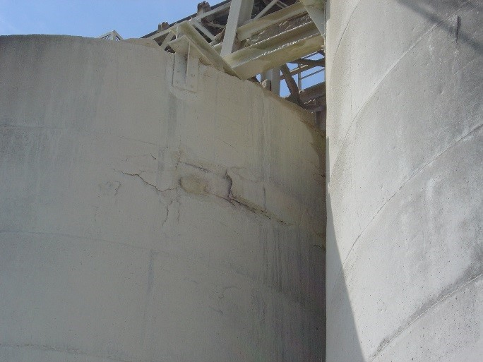 Concrete Silo Wall