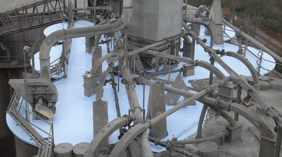 roof top silo coating