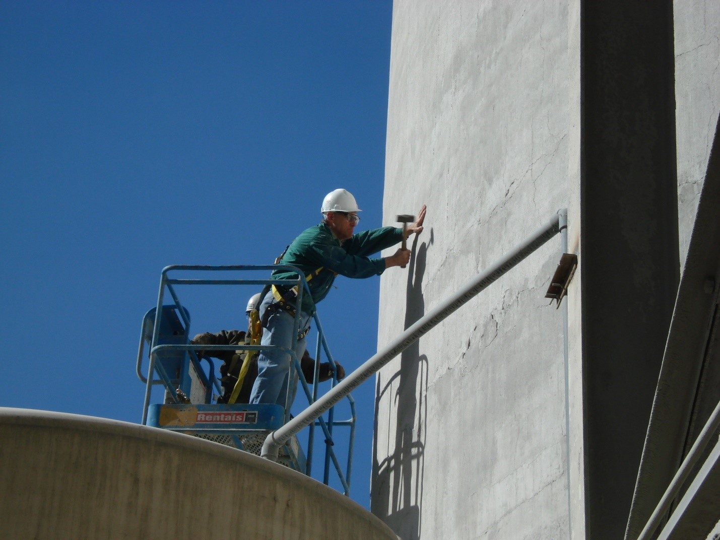 Silos for inspection