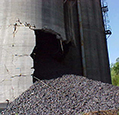 Silo Cone Damage Inspection