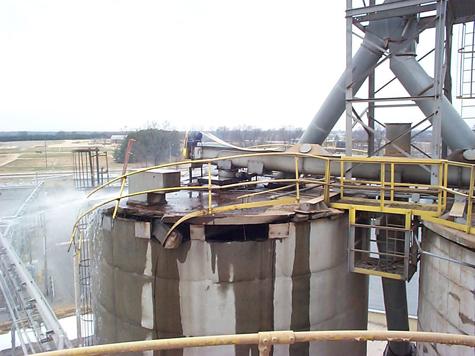 Structural Concrete Silo Repair Silo Roof Repair Silo