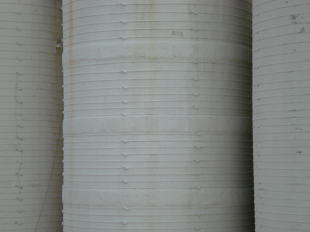 Gunite Patch on Concrete Silo
